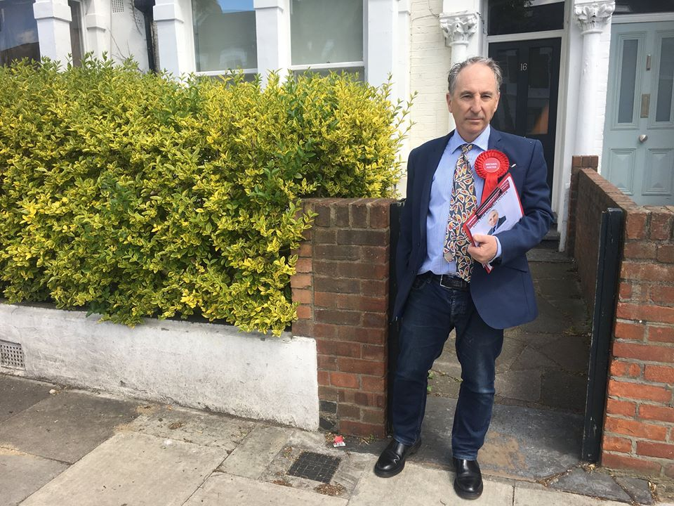 On the knocker with Michael Foster, the ex-Labour donor who says he'll beat Jeremy Corbyn in his own backyard