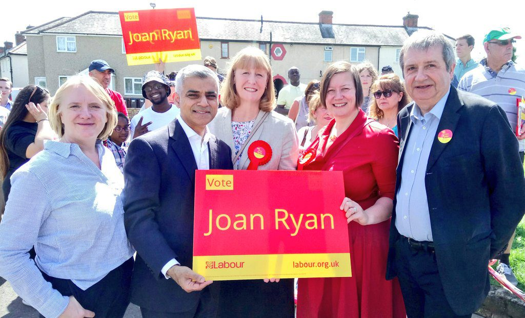 Election 2017: Joan Ryan Enfield North letter spoke for all London Labour candidates