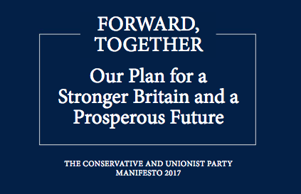Election 2017: what does the Conservative  manifesto promise London?