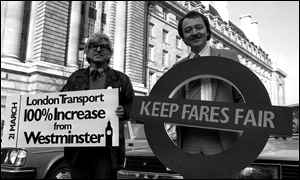 The politics of fair fares: from Livingstone to Khan