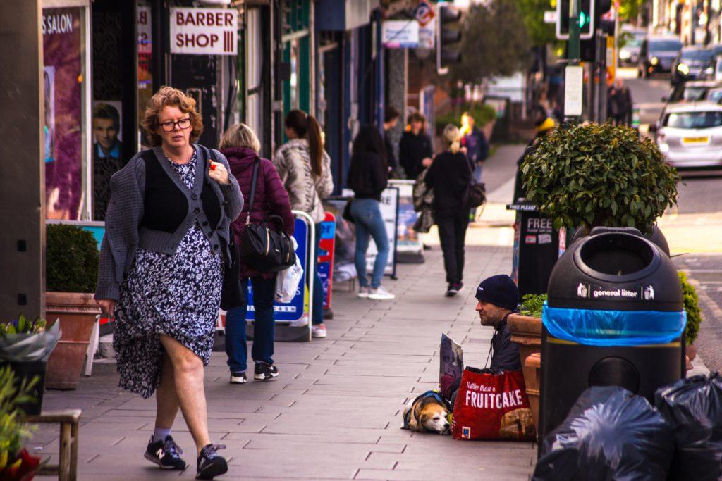 John Vane: street begging scenes