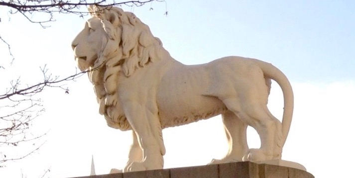 Vic Keegan's Lost London 14: the South Bank Coade stone lion
