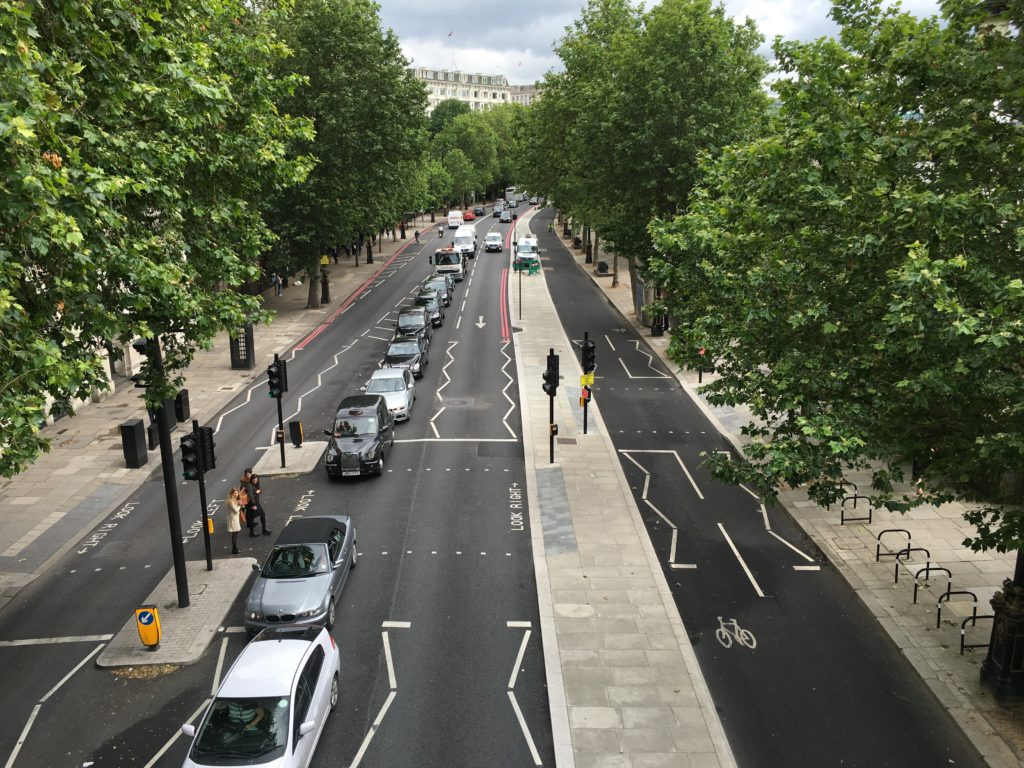 A question about London's cycle lanes: 'where are the women'?