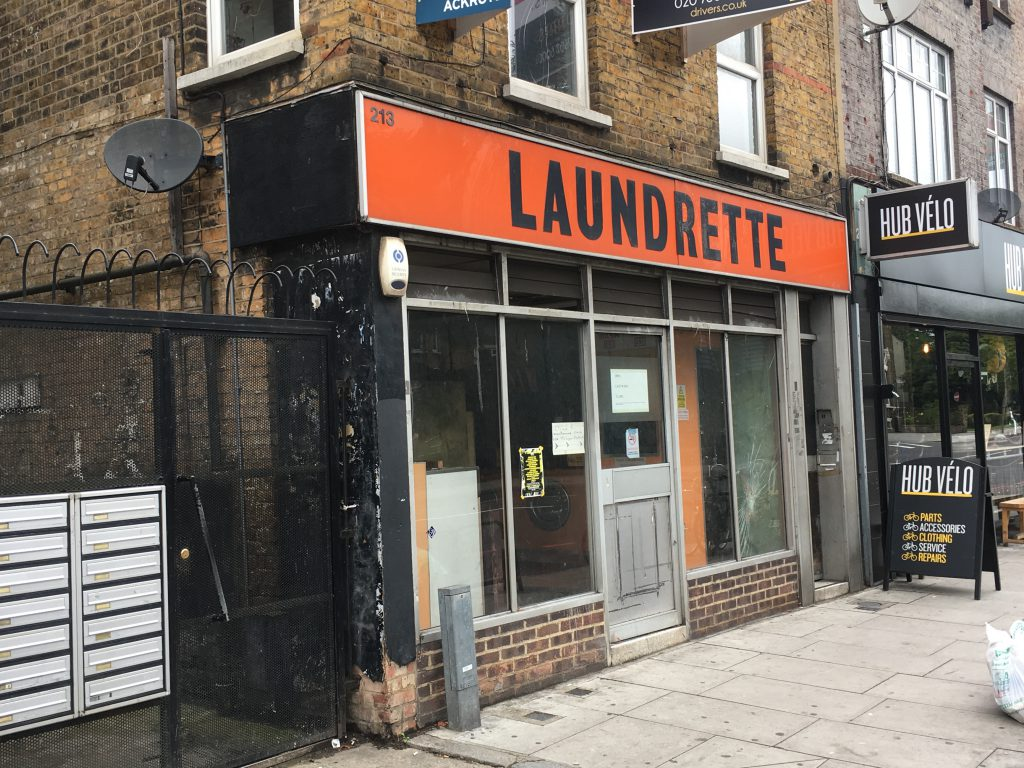 Greens fear that London launderette numbers will tumble