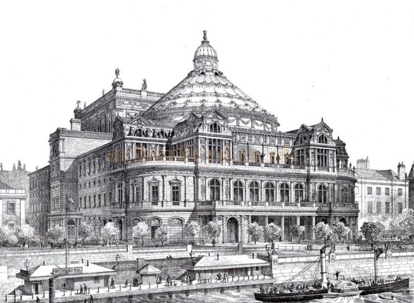 Vic Keegan's Lost London 9: the Westminster opera house that never was