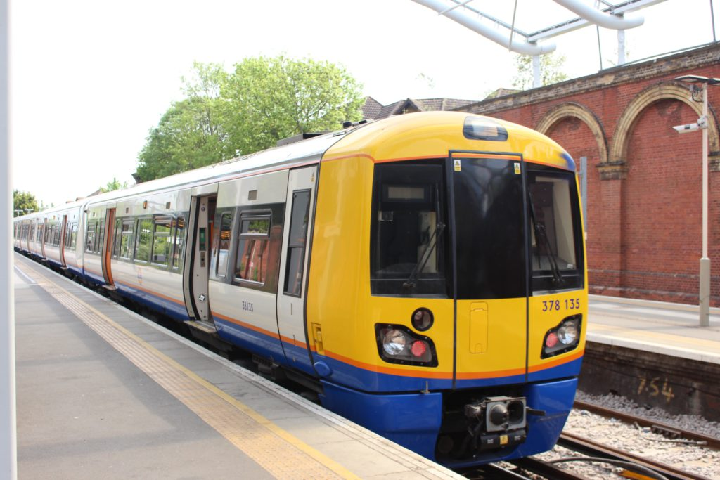 Fall in rail passenger journeys in London and south east