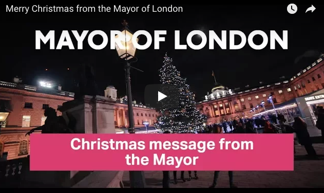 London Mayors at Christmas, past and present