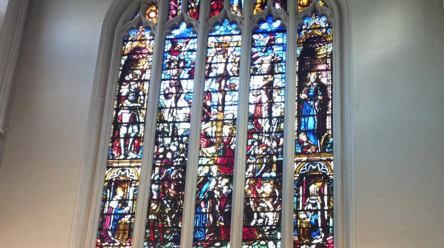 Vic Keegan's Lost London 38: stained glass at St Margaret's Church