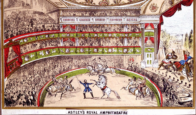 Vic Keegan's Lost London 51: the world's first circus