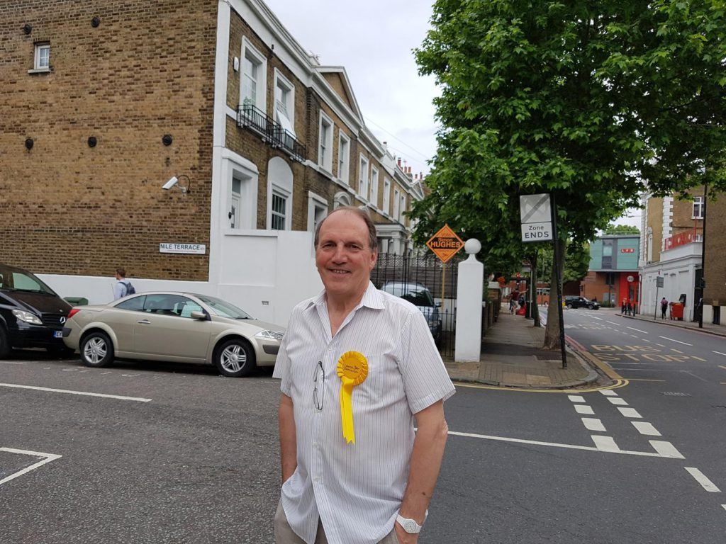 Election 2017: Simon Hughes hopeful of Bermondsey and Old Southwark comeback