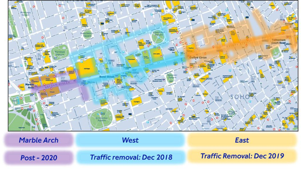 Oxford Street transformation: where will all the buses go?