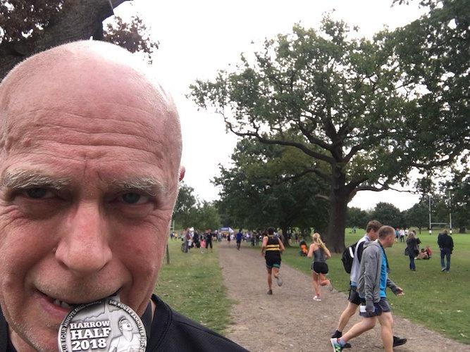 The pleasures of the Harrow Half Marathon