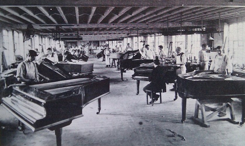 Vic Keegan's Lost London 59: the Broadwood piano factory
