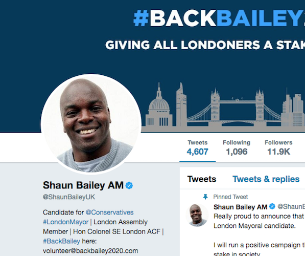 Shaun Bailey apologises for past comments about Muslim and Hindu festivals