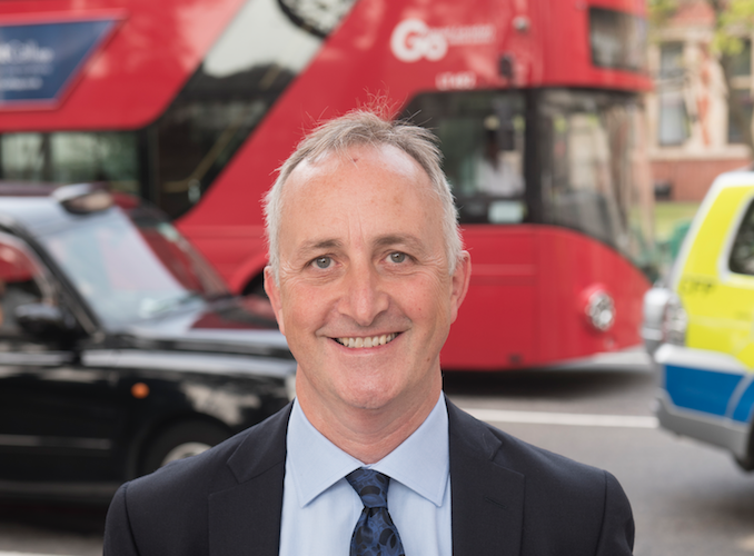 Q&A: John Trayner, boss of bus operator Go-Ahead London, on congestion, Boris, bike lanes, Uber and TfL