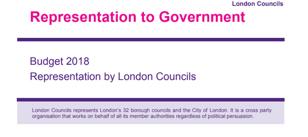 Local government finances 'unsustainable', London Councils tells Treasury