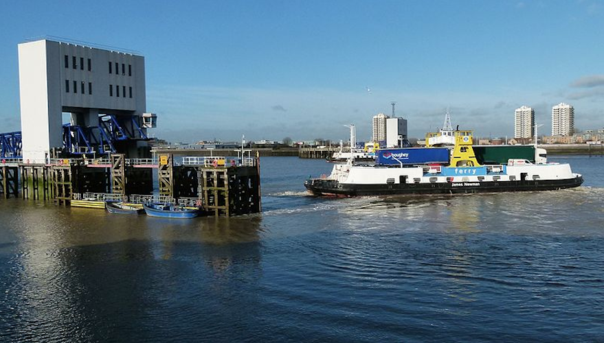 Goodbye to the old Woolwich ferries