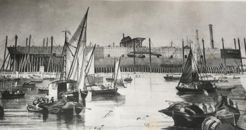 Vic Keegan's Lost London 65: the Great Eastern steamship