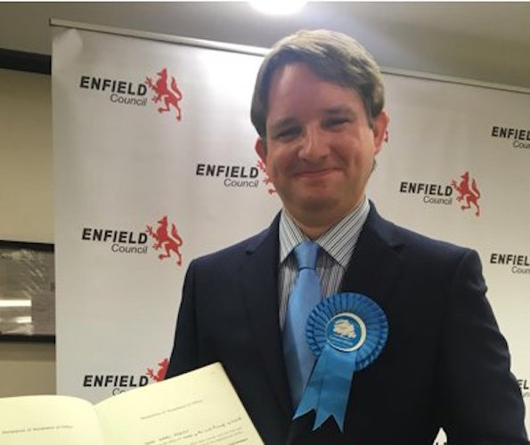 Enfield: Big swing to Conservatives in Bush Hill Park by-election win