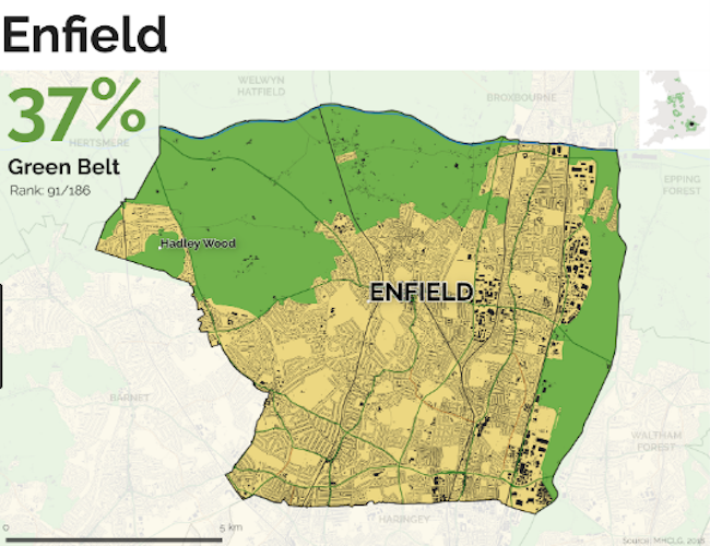 Enfield: Council's Green Belt building plans face more than one shade of political resistance