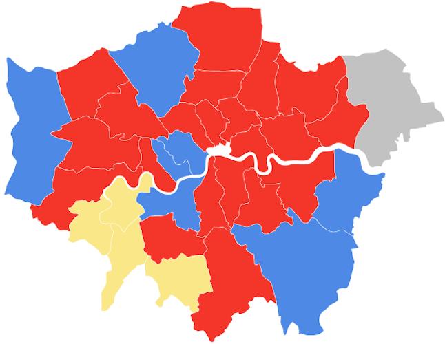 Basic Map Of London.Sarah Hayward Cutting London Boroughs Spending To The Basic
