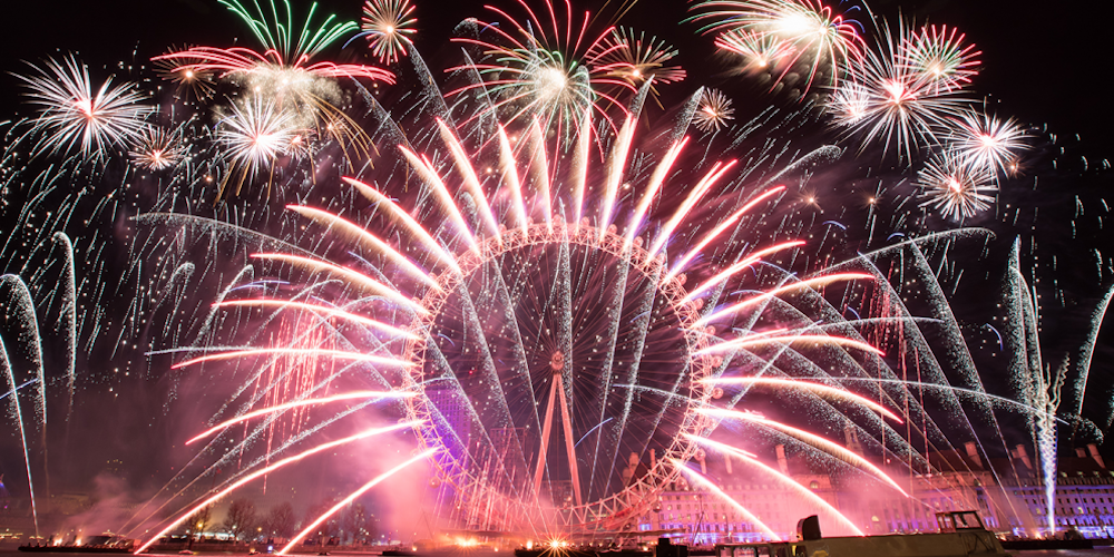 London New Year fireworks will 'celebrate capital's relationship with Europe' says Sadiq Khan