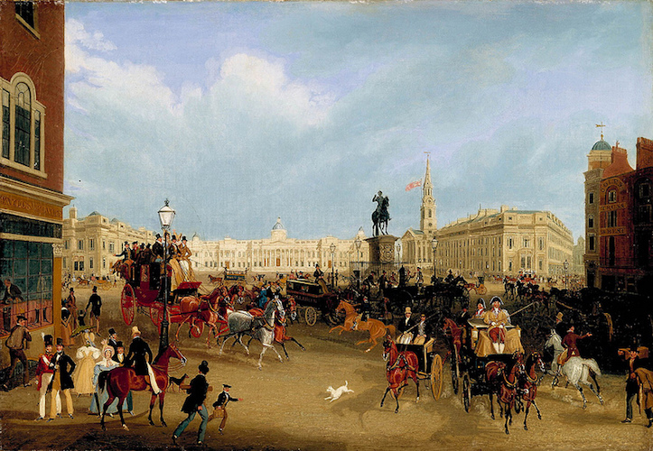 Vic Keegan's Lost London 77: The moving statues of Trafalgar Square