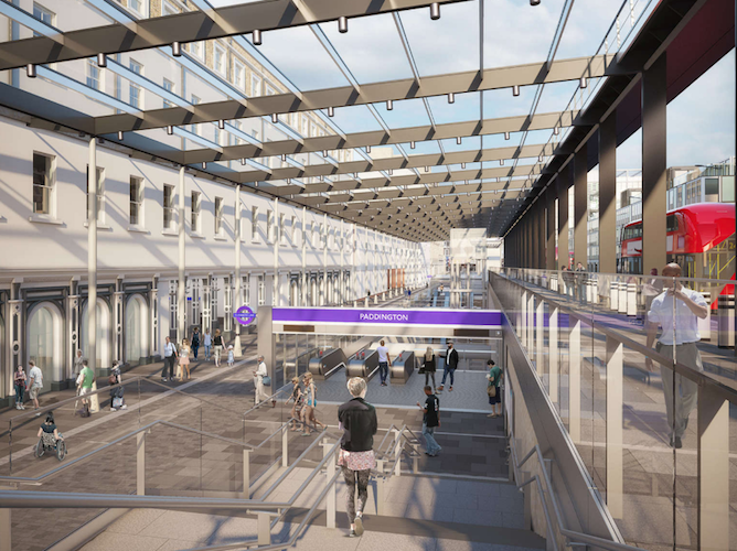 Crossrail: the new bit of Paddington station looks worth waiting for