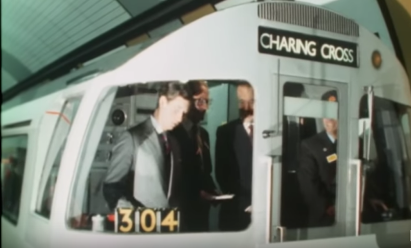 Forty years of the Jubilee Line – some opening footage