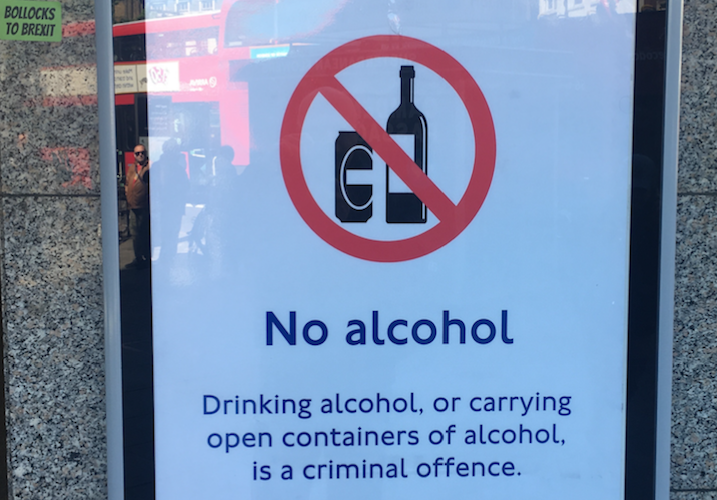 Philip Cowley: Guess what? Londoners love their public transport booze ban