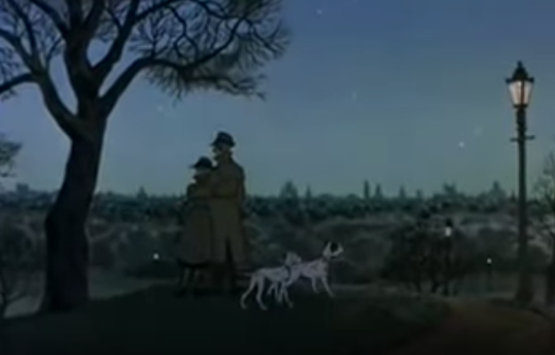 The London of Disney's One Hundred And One Dalmatians