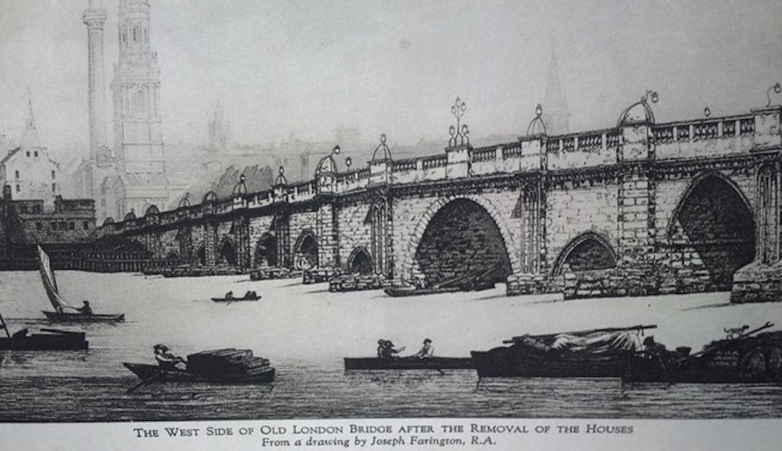 Vic Keegan's Lost London 100: Where to look for London Bridge