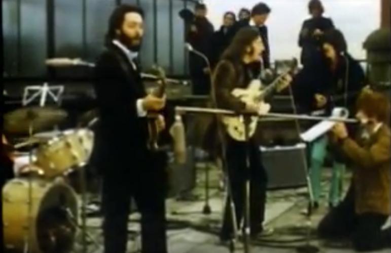 The Beatles live, Savile Row, 1969
