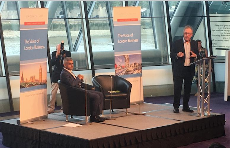 Sadiq Khan speaks to London businesses of optimism, immigration and Love Island