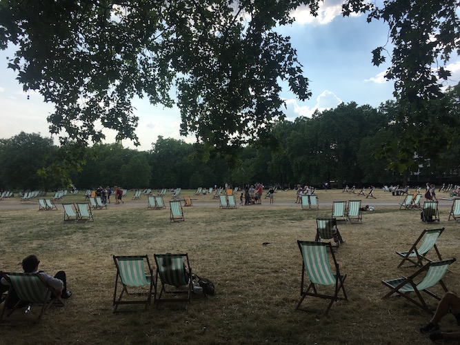 When working class Londoners preferred not to live near parks