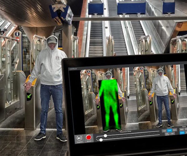New 'scan-and-search' technology being trialled at Stratford station