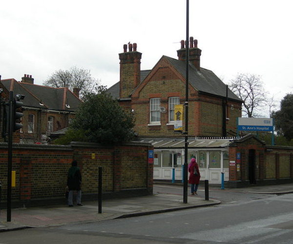 Entrance to st ann's hospital geograph.org.uk 756073