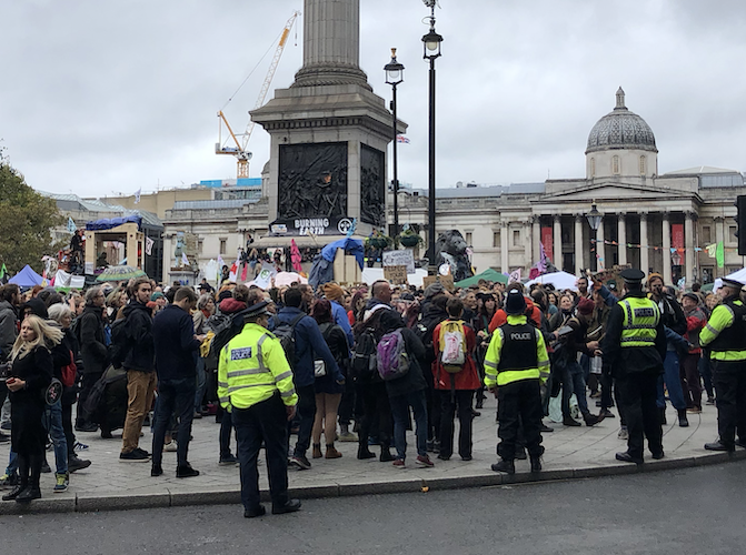 Sadiq Khan and Cressida Dick defend Met response to Extinction Rebellion protests