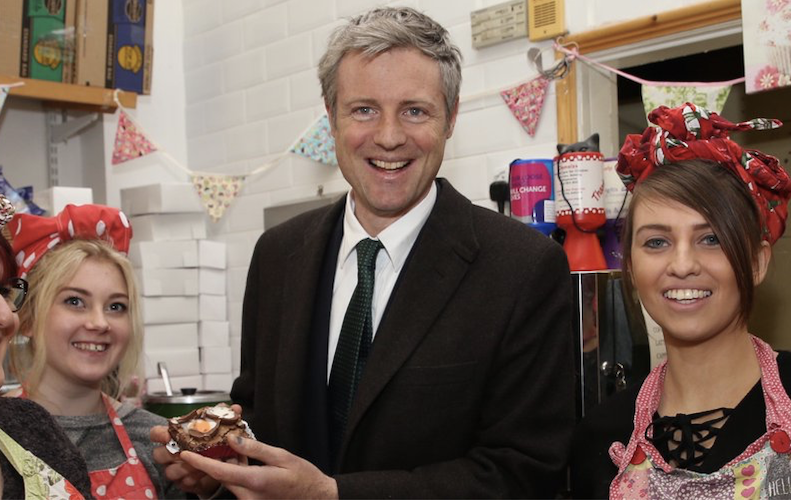 Election 2019: Zac Goldsmith tells Richmond Park residents Corbyn is 'supported' by Lib Dems