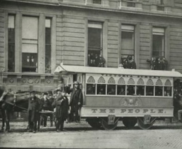 Vic Keegan's Lost London 115: George Train's Victoria Street tram