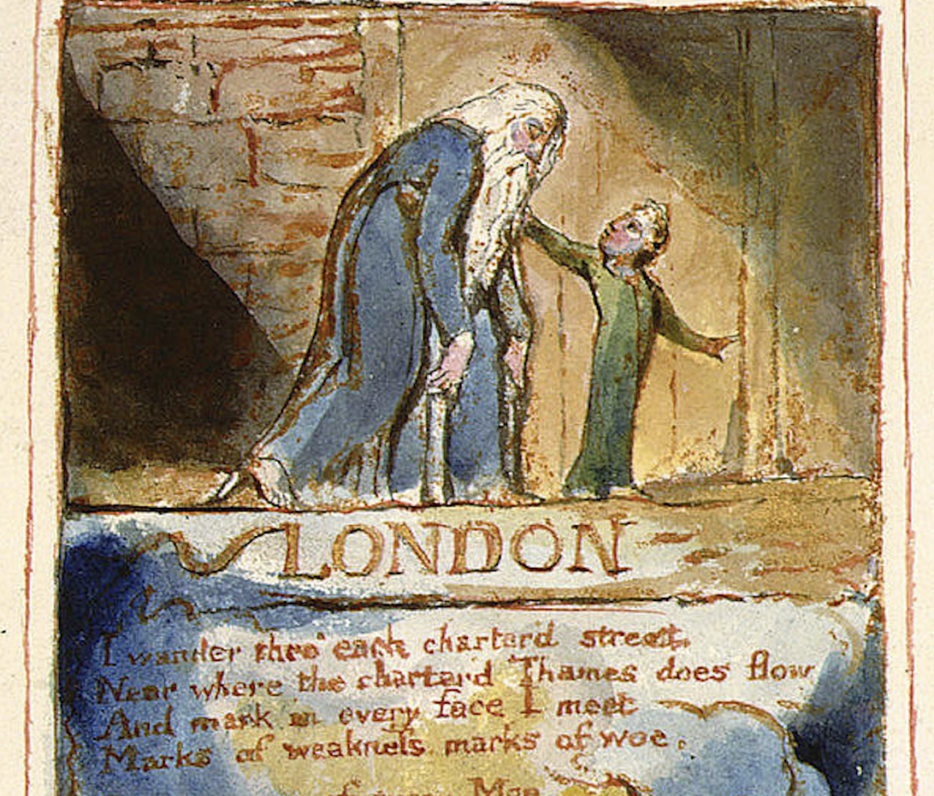 Charles Wright: The London of William Blake