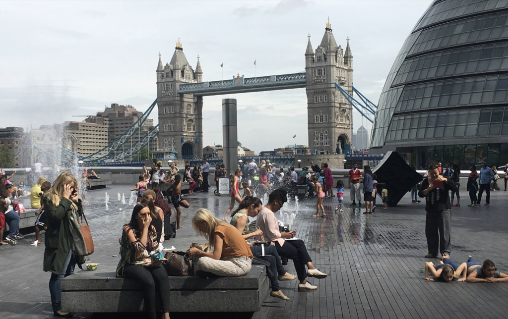 Privately-owned public space generally safe, welcoming and diverse in London, says report