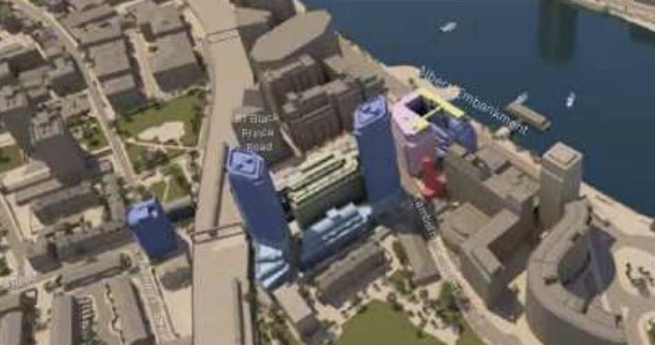Lambeth: Council approves London Fire Brigade's 8 Albert Embankment plans