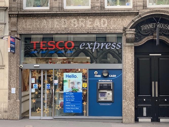 Vic Keegan's Lost London 124: Victorian Tea Shop, Strand