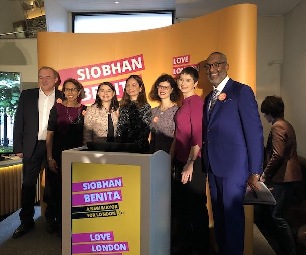 Election 2020: Liberal Democrat Siobhan Benita launches London Mayor campaign