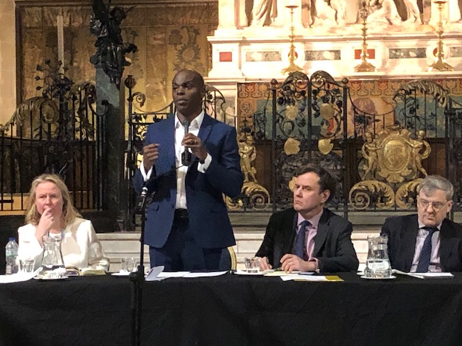 London Mayor 2020: Shaun Bailey renews attack on Sadiq  Khan over crime