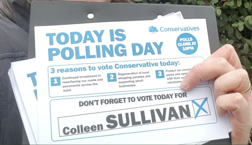 Hillingdon: Tories hold council seat with big by-election swing against Labour
