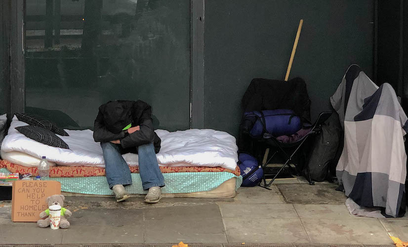 Rough sleeping in London: some facts, figures and themes