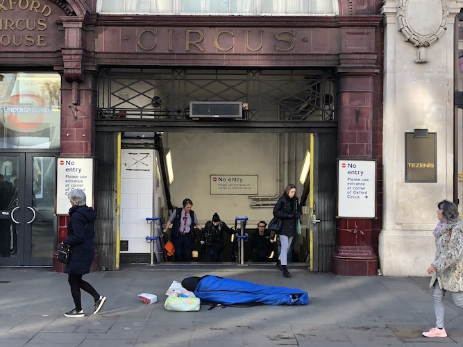 Over 1,000 London rough sleepers off streets as facility for coronavirus cases opens in hotel