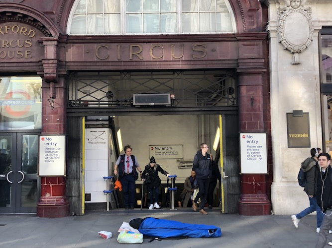 Coronavirus London: Street homeless charities report 'unprecedented effort' to get rough sleepers off streets
